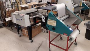 Morane Encapsulator, serial number DL27/530 and Milray M8760 cutting unit and take off table