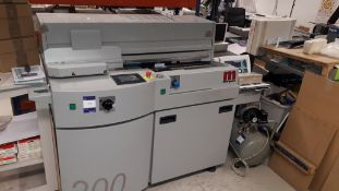 Morgana / KGS 200 perfect binding machine (2014),