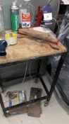 Unbadged Pneumatic Bench Top Corner Notcher with trolley
