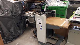 Multigraf Feed unit, serial number 659 (for spares or repair)