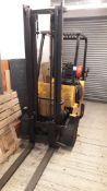 Hyster H1-50XL LPG gas forklift truck, twin stage mast, side shift, 9,441 hours, (1990) S/N C001B098