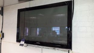 """Samsung PS42A 42"""" Flat Screen TV"""