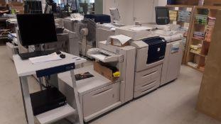 Xerox D110 Monochrome Digital Copier, ID number D-