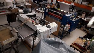 Fully Automated Laminating Line comprising feed unit, D&K Encapsulator and cutting unit (