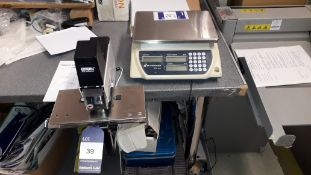 Rapid 108 Electric Bench Top Stapler and Better Weigh BLS-3K Digital Scales