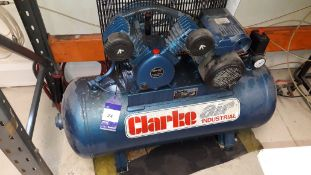 Clarke Air SEV 110100 Receiver Mounted Comprssor (2010) with Airline