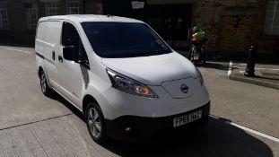 Nissan E-NV200 Electric Panel Van, registration FP66 HAX, first registered 13/10/2016, odometer