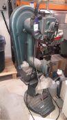 Vickers PB Treadle Operated Pedestal Stitcher, serial number PBA 285