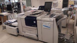 Xerox D110 Monochrome Digital Copier, serial numbe