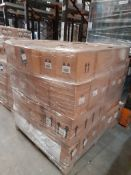2 Pallets of mixed Ocaldo paints; acrylic, ready mixed, powder - Various colours & quantities, two