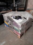 1 Pallet of play dough, various colours, approx. 347 - Ebony, 620 - Olive, 639 - Almond, one pallet