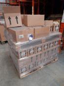 3 Mixed pallets of Ocaldo paint including Ready Mix, Acrylic, Powder - various colours, three