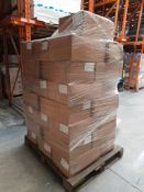 1 Pallet of Aldi So Crafty Air Drying Clay 1KG bags, 800 per box, 37 boxes, one pallet