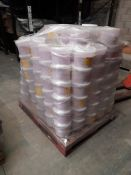 1 Pallet of YPO 2.5kg tubs of powder paint - Purple YP734039, approx. 160 tubs, one pallet