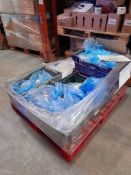 1 Pallet of Hobbycraft 'craft colour' 20ml potted paint, various colours, approx. 6 trays/boxes, one