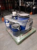 1 Pallet of various containers of Acticide NC, approx. 9 containers, one pallet