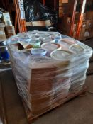 1 Pallet of Ocaldo powder paint, in various tubs & colours, one pallet