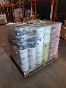 1 Pallet of various powder paint, one pallet