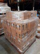 2 Pallets of mixed Ocaldo Ready Mixed paints; ready mixed - Various colours & quantities, two