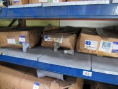 Approx. 3 Box xQty150-Solvent Weld Waste 32mm Branch Tee Grey(Approx. 450fittings)