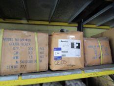 Approx. 1 Box x QTY 300 - Pushfit Waste 40mm Coupler Black, Approx 1 Box x QTY 40 - Solvent Weld