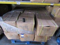 Approx. 12 Boxesx Qty 300 – Pushfi tWaste 40mm Coupler Black (Approx. 3,600Fittings)