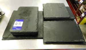 Approx 11x Slate Serving Plates
