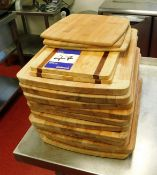 Approx 13x Wooden Chopping Boards