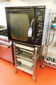 Blue Seal Turbo Electric Steamer Oven to Trolley with Approx 45 Oven Trays, Model: E32M, Serial 34