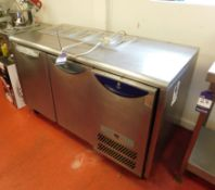 Williams HO2U 240V Three Door Chiller Unit with Five Hatch Counter Servers