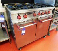 Kitcheneers Six Burner Gas Oven
