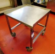 Stainless Steel Mobile Bench Aprx (600x600)