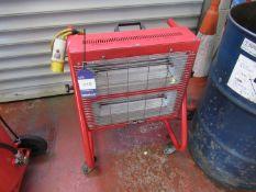 Clarke 2 Bar Infra-Red Heater