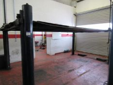 Bradbury 3 Ton, 4 Post Lift Master MK1 Vehicle Lift Serial Number 735/7547