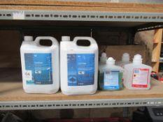2x 5 Litre K2 Optimum Hygiene Sanitiser, 2 Deb Flora Free Skin Sanitiser and 2 Bed Flora Free Mild H