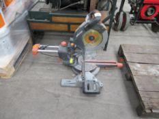 Evolution Rage SMS R255 255mm TCT Sliding Mitre Saw, 240 Volts.