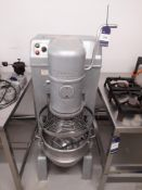 Hobart NCM40 Mixer, Year: 1995, Serial: 97111976, with Blade and Bowl (please note this lot also