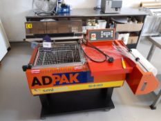 Adpak S440 Shrink Wrapping Machine, Year: 2012, Serial: 9996-41624. (please note this lot also forms
