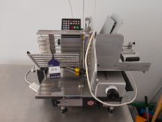 Bizerba Meat Slicer, Machine Number: 1301534, 240V (Only Works Manually). (please note this lot also