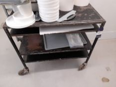 Steel Fabricated Mobile Trolley (please note this lot also forms part of composite lot 118)