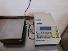 Bizerba Labeller, Model:1836478, and Weighing Scales Type 18-A (please note this lot also forms part
