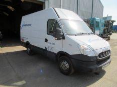 Iveco DAILY 35S11 MWB, Van, 2014 2287cc, Diesel, White, Registration NX14JGO, 89,022, MOT expired