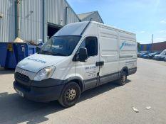 Iveco Daily 35S11 Medium wheel base Van, Diesel, White, Registration NX14JGF, 2014, 100610Miles, Eng