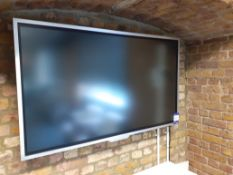 """55"""" flatscreen TV. Location – London. Viewing strongly recommended in order to ascertain removal"""
