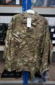 6 x MTP Shirt Army issue 42 -44 R x 1, 42-44 S x 5 Rrp. £10.50