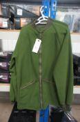 2 x British Army Olive Green Fleece 180/96 & 190/112