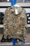 5 x MTP Shirt Army issue 44-46 S x 2, 44-46 XL x 3 Rrp. £14.99