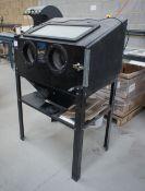 SGS SSB200 shot blast cabinet