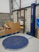 Robopac Ecoplat FRD pallet wrapper, 240V, Serial Number 30152424, Year 2016