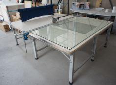 Tianyu fabric slitting machine, with TY206 cutter (2
